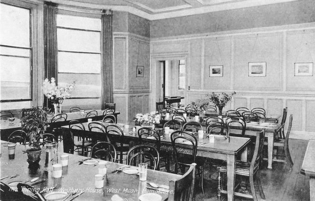 Westbury House School Dining Hall