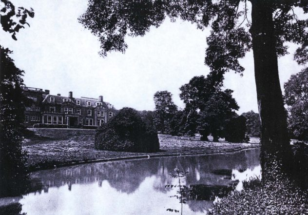 The lake was used as a swimming pool.