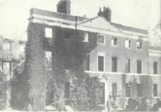 Westbury House after fire