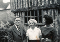 Ralph and Ruth Woodfield with daughter