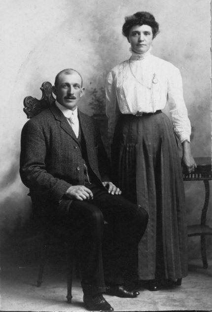 Albert and Minnie Budd