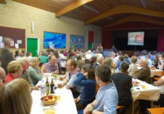 Dining in the Village Hall
