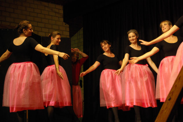 Emma Gaisford, Shelley Nellist, Sarah Edsell and others at East Meon's Got Talent