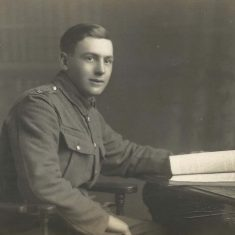 G.W.Atkinson was taken prisoner and returned late from the Great War.