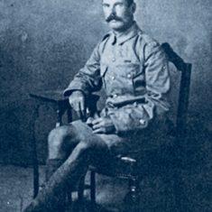 Portrait photograph of George Horlock VC