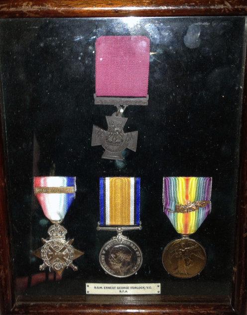 medals for George Horlock