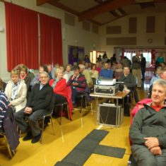 On the last Friday of each month from September to April, a movie has been screened in the Village hall courtesy the charity Moviola. | Michael Blakstad