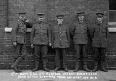 Owen Budd in military uniform