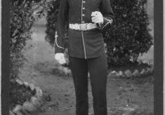 Owen Budd in Royal Marines uniform