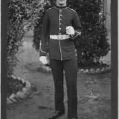 Owen Budd c. 1905, in RMLI uniform