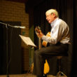 Robin West plays the guitar at East Meon's Got Talent