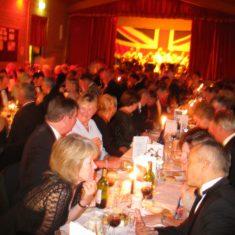 Dinner to celebrate the bicentenary of the Battle of Trafalgar 2005. | Michael Blakstad