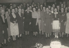 WI Celebration at the Village Hall