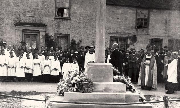 War Memorial Service