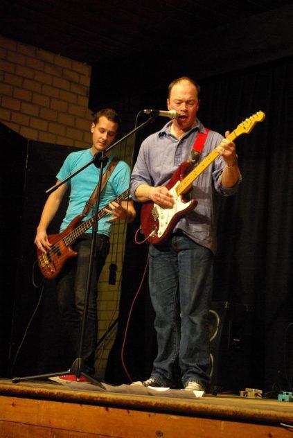 Guitar duet at East Meon's Got Talent