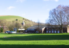 The Village Hall and Park Hill