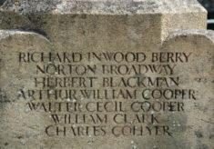Names of WWII Fallen (B-C)