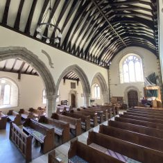 The nave of All Saints from the pulpit. | Richard Gaisford