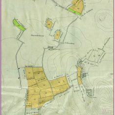 Northern lands enclosed in Oxenbourne in 1845