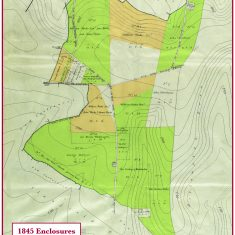 Central section of Oxeenbourne lands enclosed in 1845