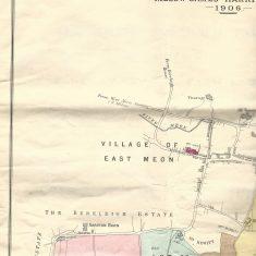 1906 Bonham Carter estate sale, village, top