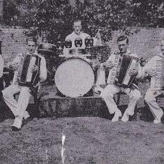 Band, late 1930s Mrs Smith, George Blackman, William Blackman, Bert Lambert
