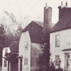 Old Bell Cottage was a leather makers and cobblers shop/