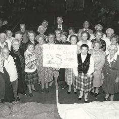 British Legion 25 years. Includes Eileen  Brooks, Ivy Cook, Marion Lambert, Nellie  Goddard, Mrs Crockford