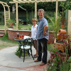 The year they moved into The Green (2003) Cathy and Tim Bridger opened their garden ...