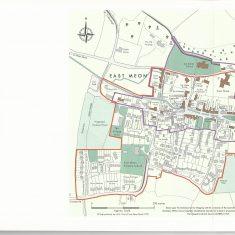 Map created for 2009 Village Design Statement