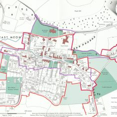 East Meon Policy Boundary from Village Design Statement