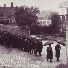 Funeral of E.A.J.Potter, photo Cobbett, Drayton, May 26 191