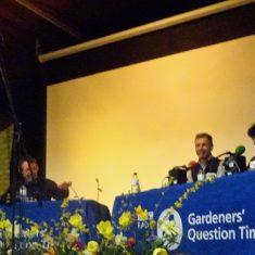 Gardeners Question Time Panel March 2019  Tom Robson, Chris Beardshaw, Pippa Greenwood, Bill Sowerbutts