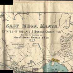 1906 sale of South Farm, header