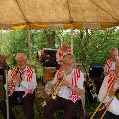 Wally Fawkes' jaz band