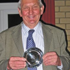 Michael Atkinson with salver