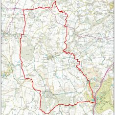 Ordnance Survey map of East Meon 2010