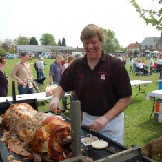 Matt Atkinson's hog roast