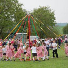Maypone dance by Primary School