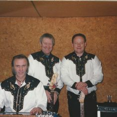Nickels and Dimes, L - R, Maurie Newman, Les Blackman, Robby Hamilton