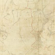 Section of East Meon Tithe Apportionment map 1852 Park Farm & Langrish