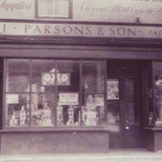 Parons Store, 1920s