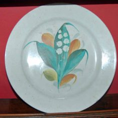 Plate longing to Beatrix Potter who a neighbour of the Atkinsons at Skelgill in Westmoreland.