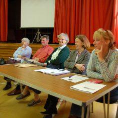 Parish councillors: Anella Parker Martin, George Atkinson , Ruth Atkinson, Heather Kendall