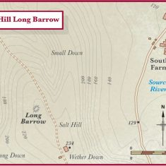 Salt Hill showing barrows