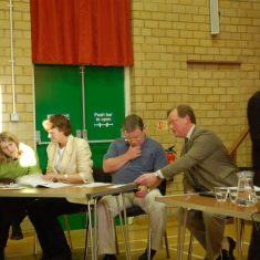 Sharon Silence,,_Philippa Tyrwhitt Drake, Dominic Carney,_David Parkinson,_Sarah Cowlrick (clerk)