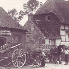 Smithy with Pillstyle Cottage (now Fotge Cottage)