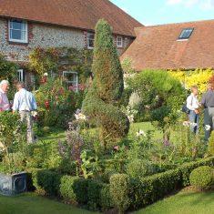 Visit to Bordean garden