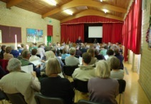 Parish Forum, held every April at which Parish Council invites residents to discuss its business